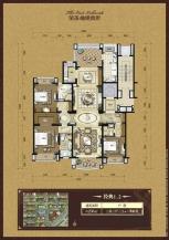 3室3厅3卫 户型图