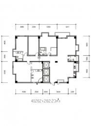 4室2厅4卫 户型图