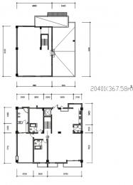 4室3厅4卫 户型图