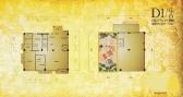 锦绣唐朝4号楼10302 D1户型3室2厅4卫391.76㎡