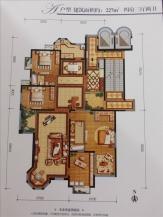 4室3厅2卫 户型图