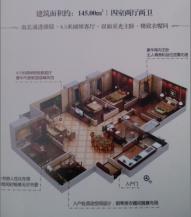 4室4厅2卫 户型图