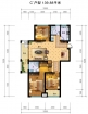 逸城渭水乐园C户型3室2厅2卫0厅139.88㎡