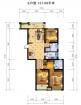 逸城渭水乐园E户型3室2厅2卫0厅131.69㎡