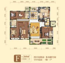 5室2厅3卫 户型图
