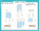 保利·锦悦和府花语庭院A1室1厅1卫136.00㎡