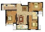 德杰状元府邸A43室2厅1卫99.00㎡